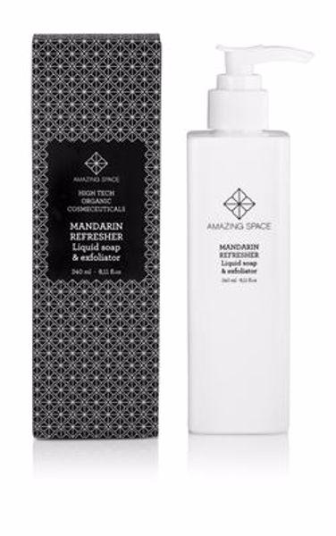 MANDARIN REFRESHER - Liquid soap & exfoliator
